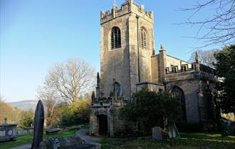St Mary's Parish Church. Photo credit: Disley Parish Churches