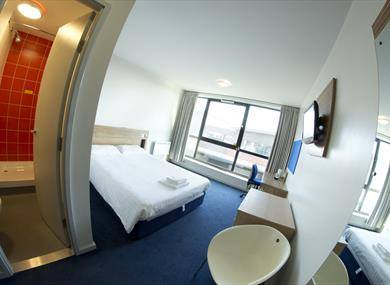 Bedrooms at University of Chester - Sumner House