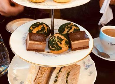 Afternoon tea on a Taste Knutsford Tour