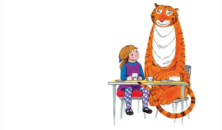 The Tiger Who Came to Tea exhibition at Chester Cathedral