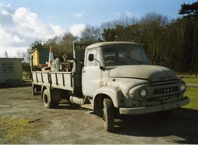 griffin trust trader vehicle