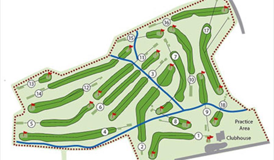 Course at Vicar's Cross Golf Club