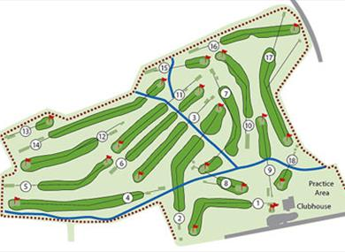 Course at Vicar's Cross Golf Club
