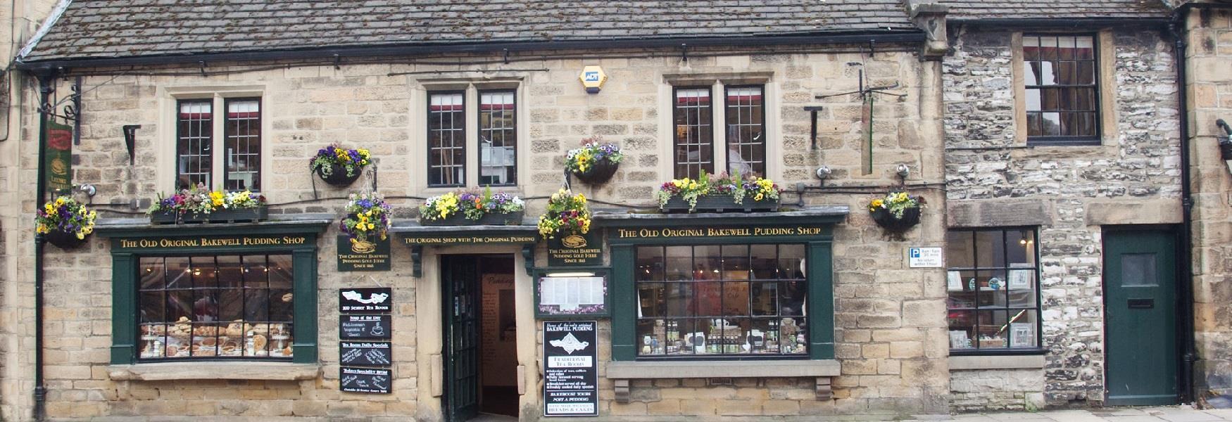 Old Original Bakewell Pudding Shop