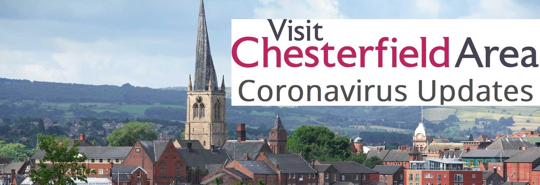 Visit Chesterfield Area. Coronavirus Updates.