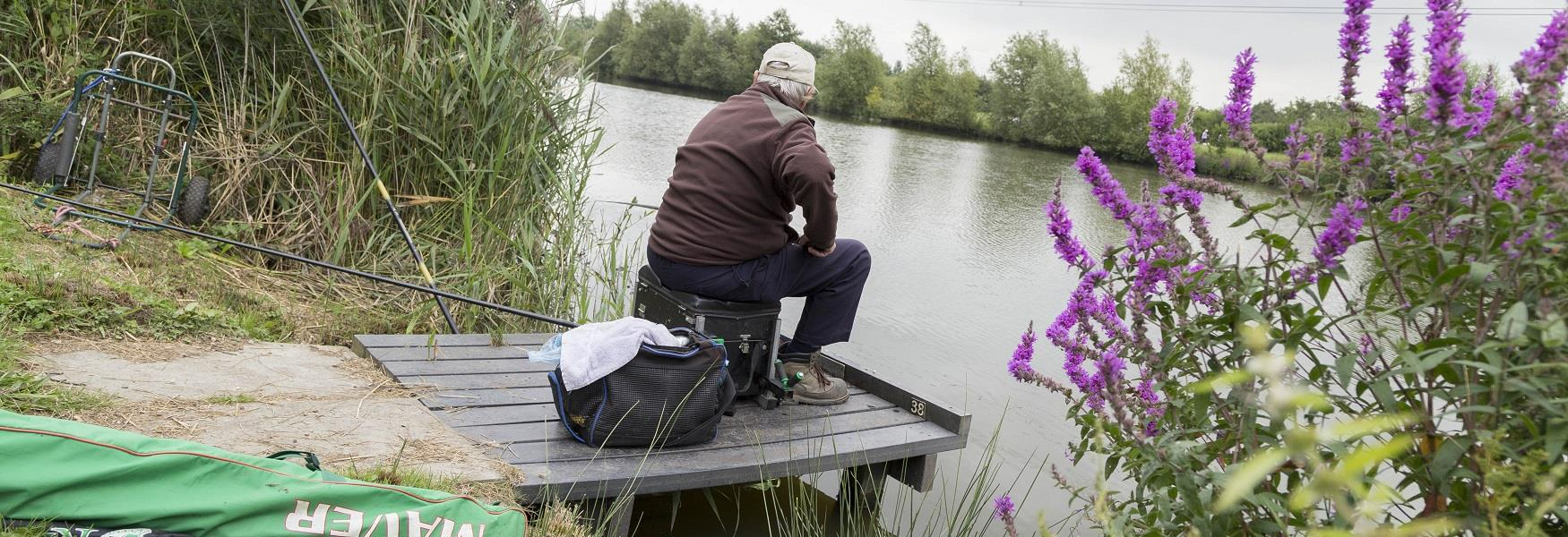 Fishing at Poolsbrook Country Park