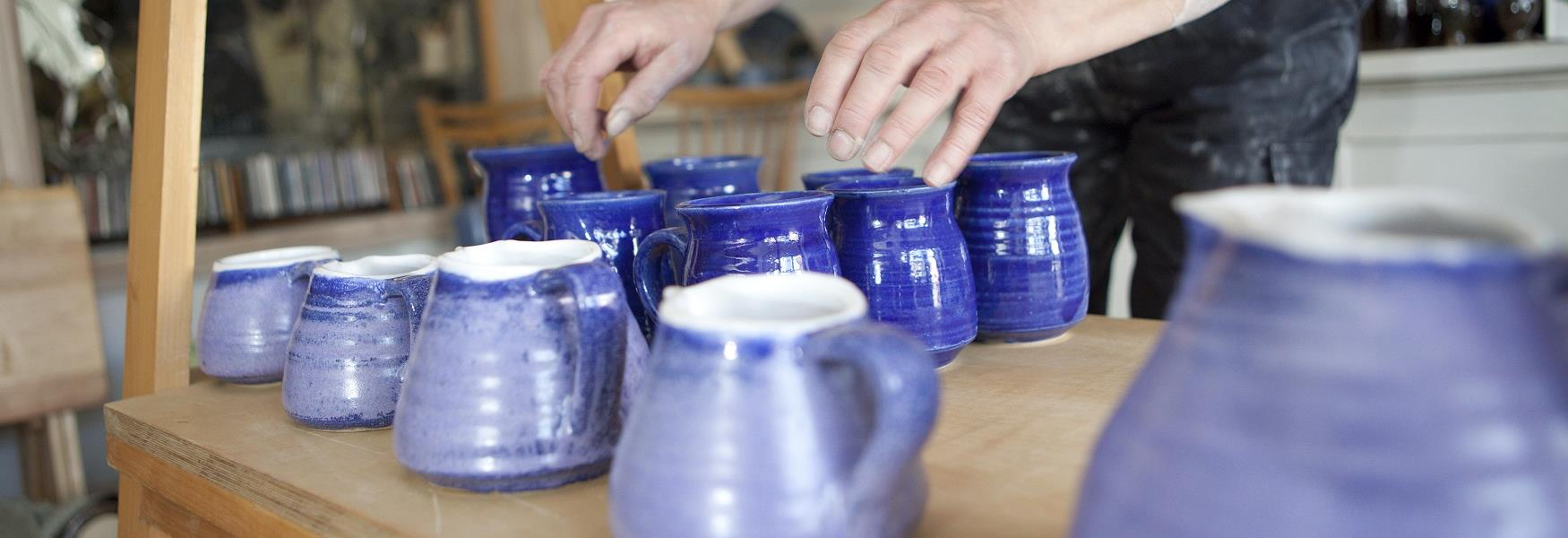 JMJ Pottery on Chatsworth Road, Chesterfield
