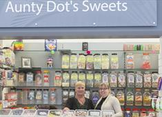 Aunty Dot's Sweets at Chesterfield Market Hall