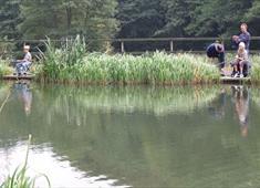 Fishing at Barlow Country Club
