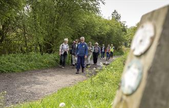 Walking on Chesterfield Canal