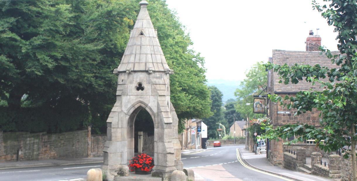 Dronfield Peel Monument