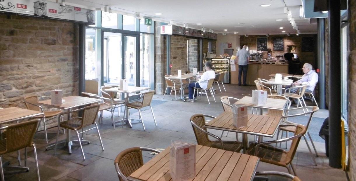 Dronfield Hall Barn Cafe