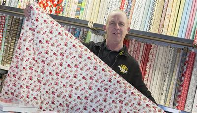 Esberger Fabrics at Chesterfield Market Hall