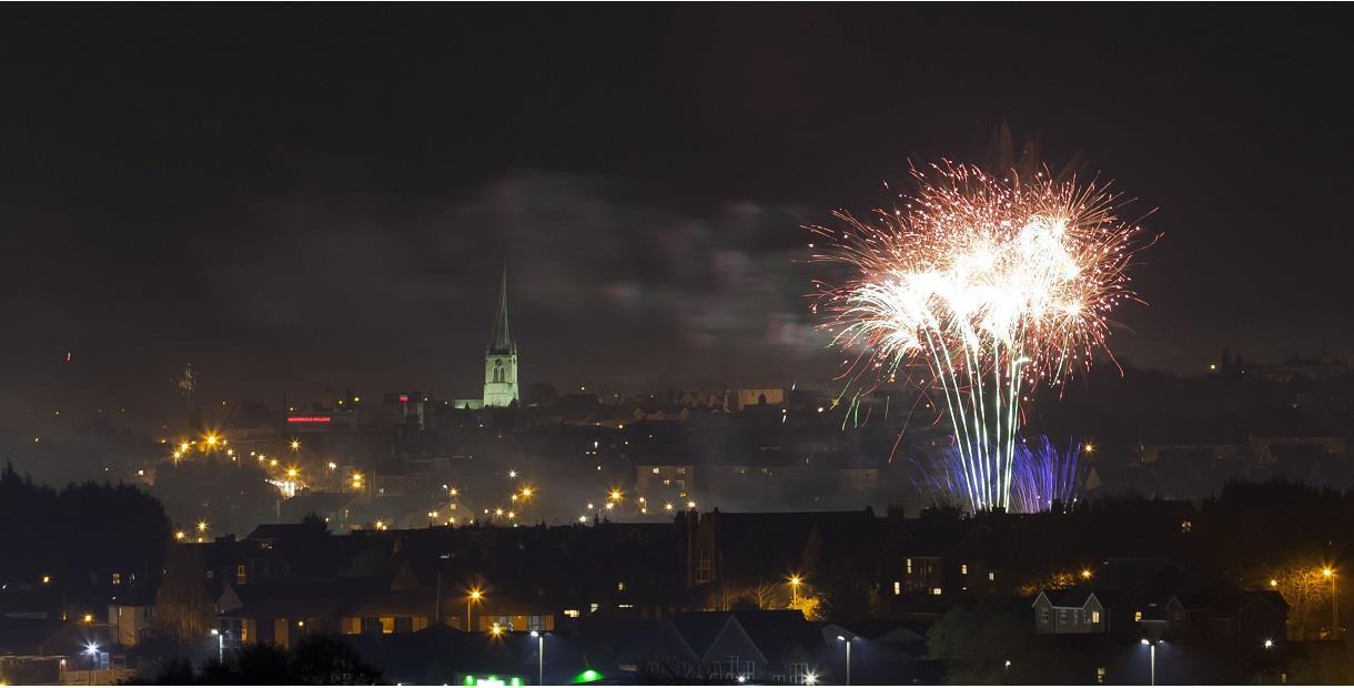 Chesterfield Fireworks Extravaganza