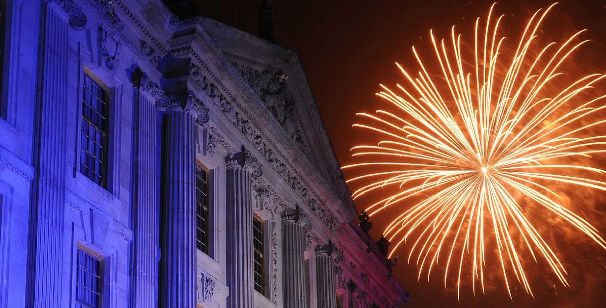 Fireworks at Chatsworth