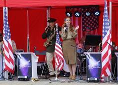 Kalamazoo Dance Band at Chesterfield 1940s Market 2017