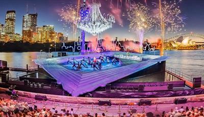La Traviata on Sydney Harbour water stage
