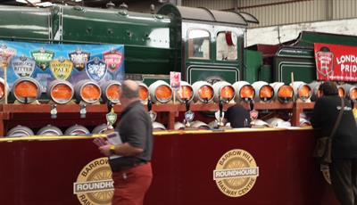 Rail Ale Festival at Barrow Hill Roundhouse