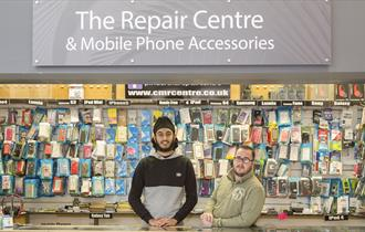 The Repair Centre at Chesterfield Market Hall