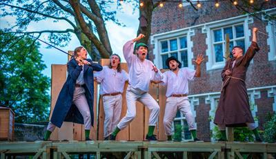 Picture of performance of Robin Hood by The Three Inch Fools