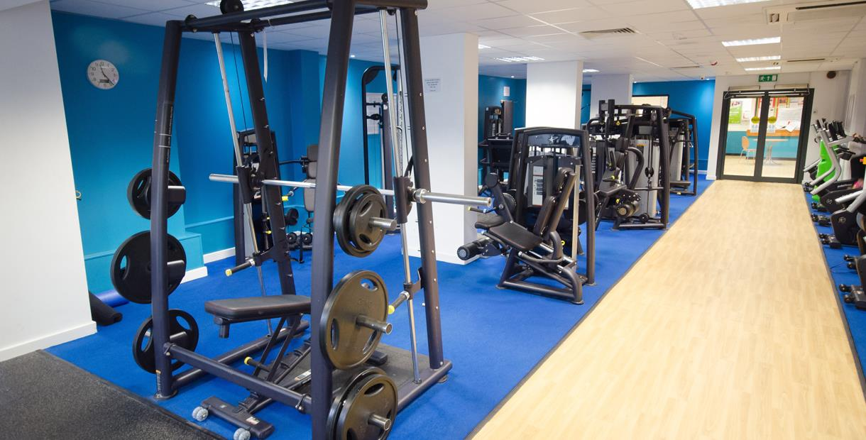 Fitness suite at Sharley Park Leisure Centre