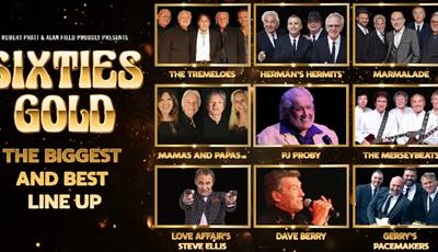 Sixties Gold line up - the biggest and the best