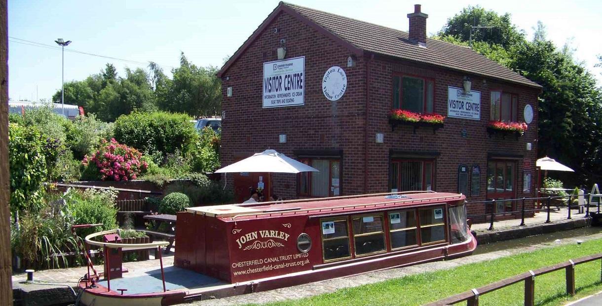 Tapton Lock Visitor Centre and John Varley Boat
