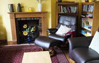 Living room at The Pottery Flat