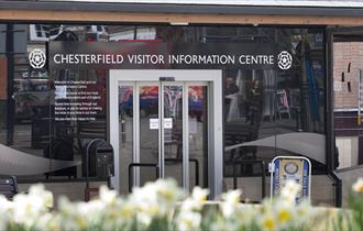 Outside Chesterfield Visitor Information Centre
