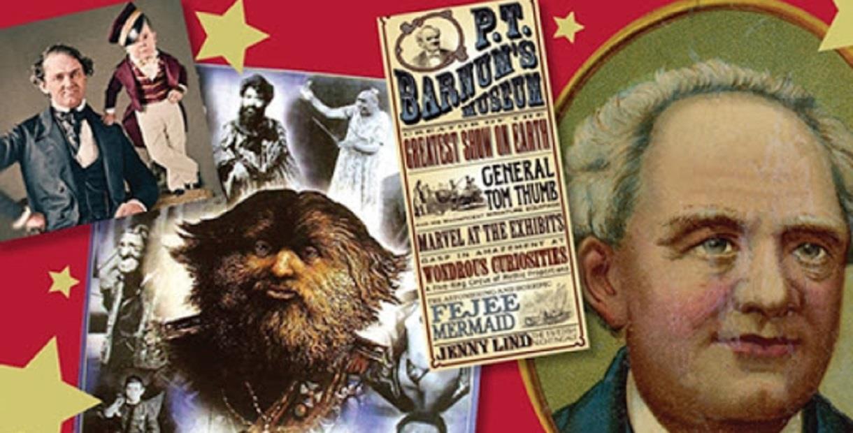 PT Barnum, The Greatest Showman
