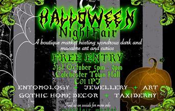 Halloween Night Fair Flyer