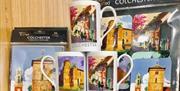 Colchester Souvenirs, Mug and Coaster