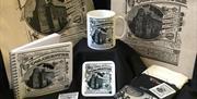 Colchester Souvenirs Black and White Heritage Design