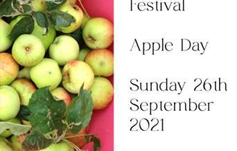 River Stour Festival - Apple Day - Sunday 26th September 2021 11am - 4pm