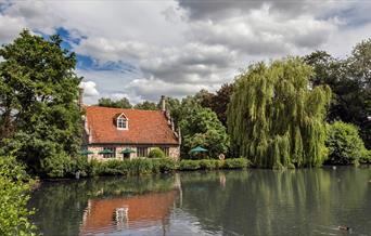 Bourne Mill, by Bourne Pond
