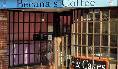 Becana's Coffee Shop Front