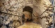 Access to the vaults in Colchester Castle