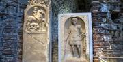 Roman Tombstones in Colchester Castle