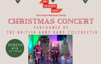 Christmas Concert performed by the British Army Band