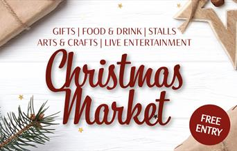 christmas market, free entry, gifts, food & drink, stalls, arts & crafts, live entertainment