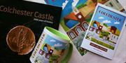 Colchester Souvenirs, Mug, Postcard and Book