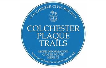Colchester Plaque Trails logo