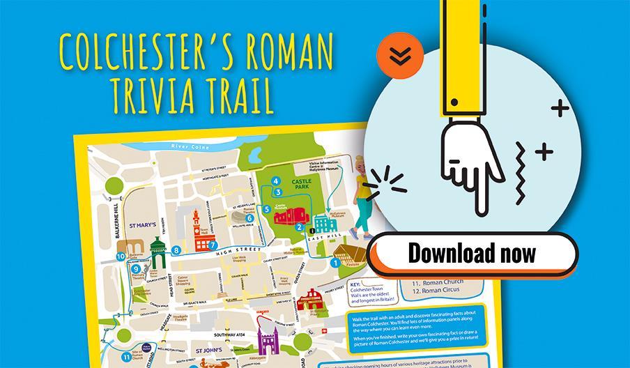 Colchester's Roman Trivia Trail - Download Now
