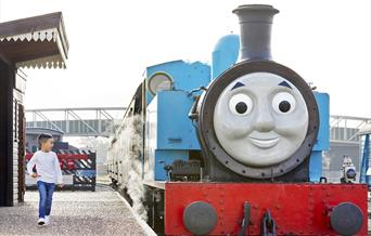 FESTIVE DAY OUT WITH THOMAS