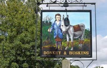 Donkey and Buskins