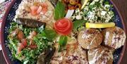 Falafel and More Mixed Plat