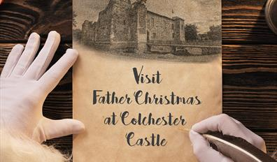Visit Father Christmas at Colchester Castle