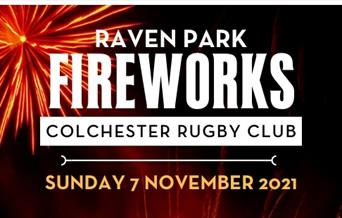Raven Park Fireworks at Colchester Rugby Club