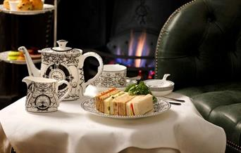 GreyFriars Hotel, Afternoon Tea by the fire in the Rose Room