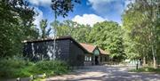 The Visitor Centre at High Woods Country Park